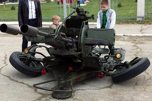 Нажмите на изображение для увеличения Название: 23-мм спаренная установка ЗУ-23-2.jpg Просмотров: 196 Размер:98.5 Кб ID:436